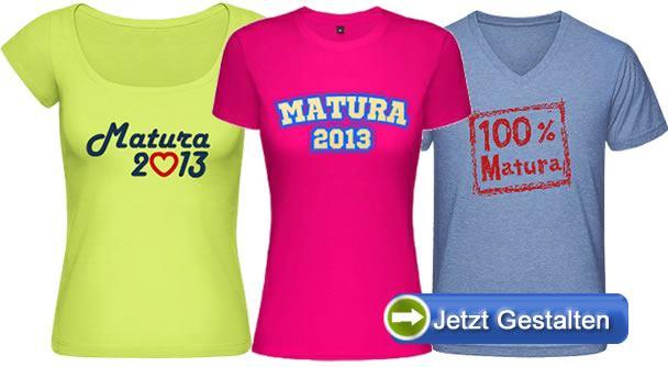 Matura-Shirt-Produkte