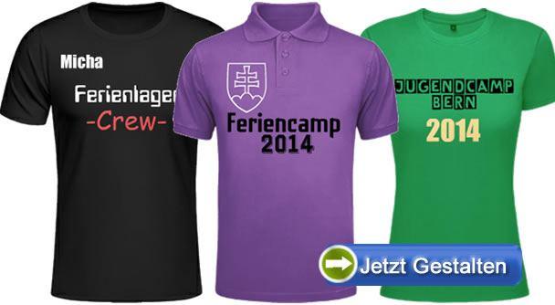 Ferienlager-T-Shirts